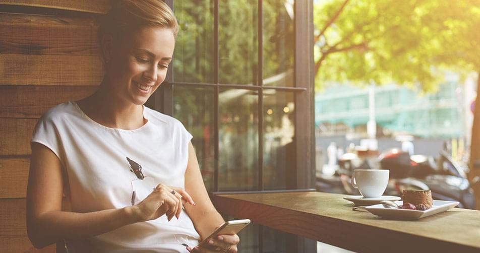 ραντεβού με SMS σε ένα κορίτσι